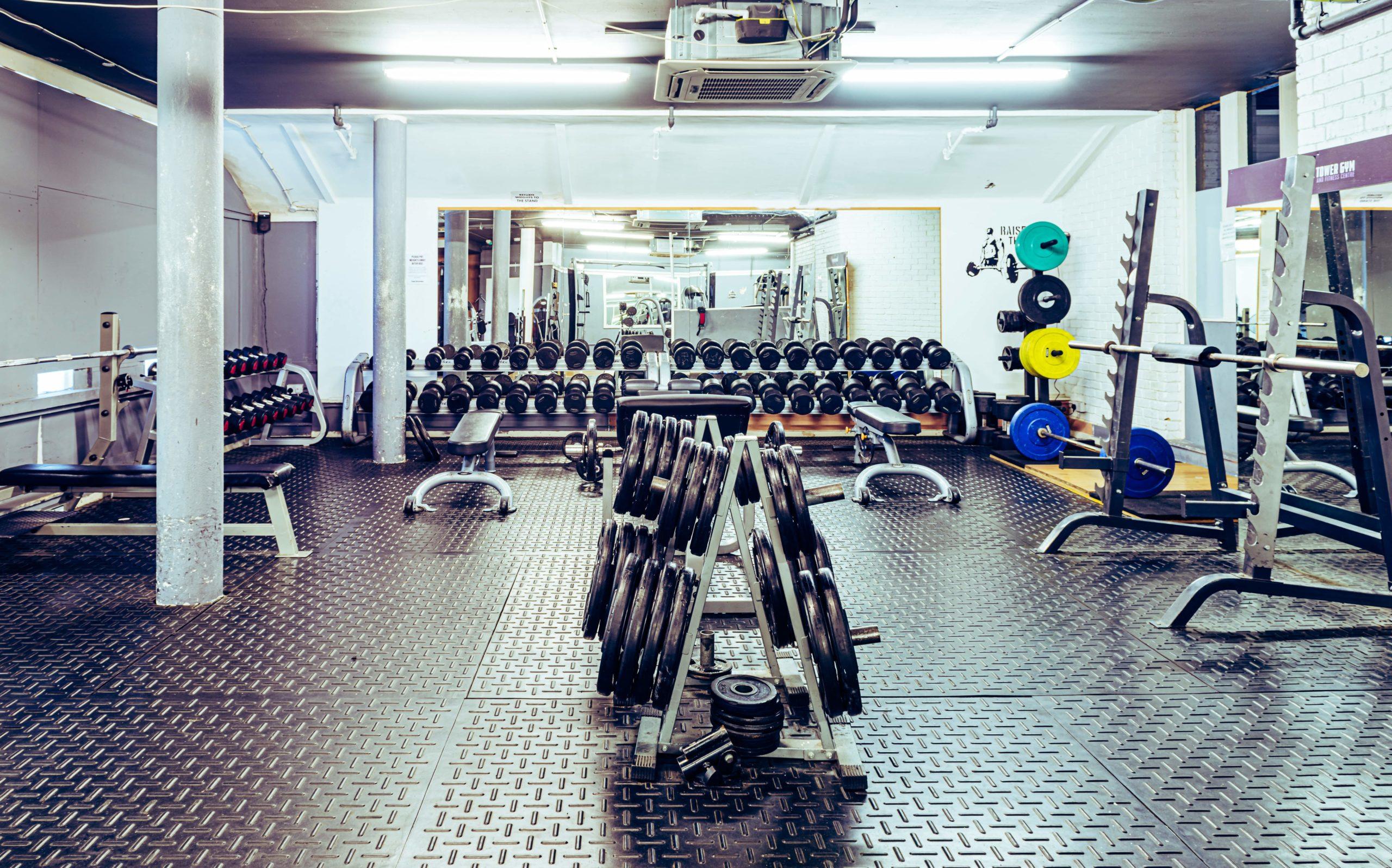 Clock Tower Gym - Weights - Machines - Floor - Squats - Deadlifts - Fitness - Studio - Zones